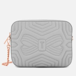 Ted Baker Quilted Leather Crossbody Bag